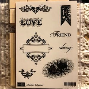 🍒Stampin' Up!🍒 «Affection Collection» Stamps Set